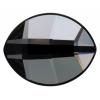 Swarovski Pure Leaf 2204 14x11mm Silver Night Crystal